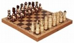 Carved Parade Chess Set