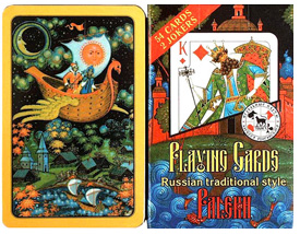 Palekh Playing Cards